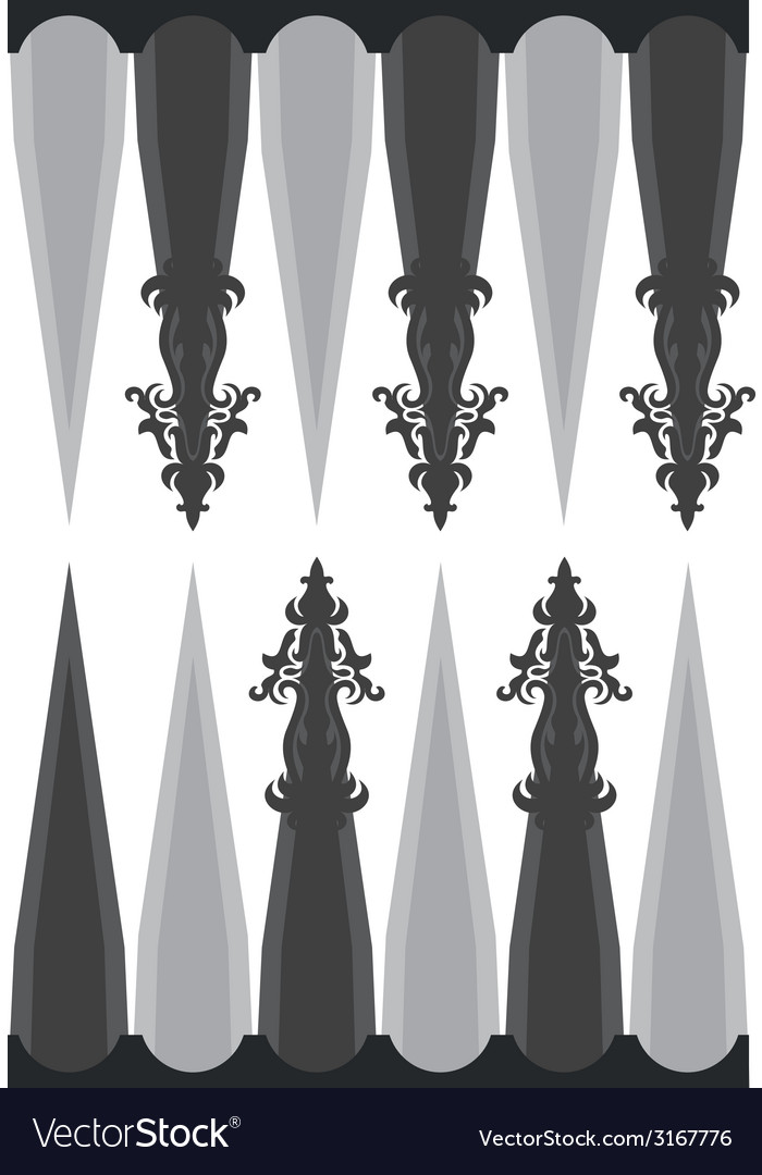 Template for backgammon vector | Price: 1 Credit (USD $1)