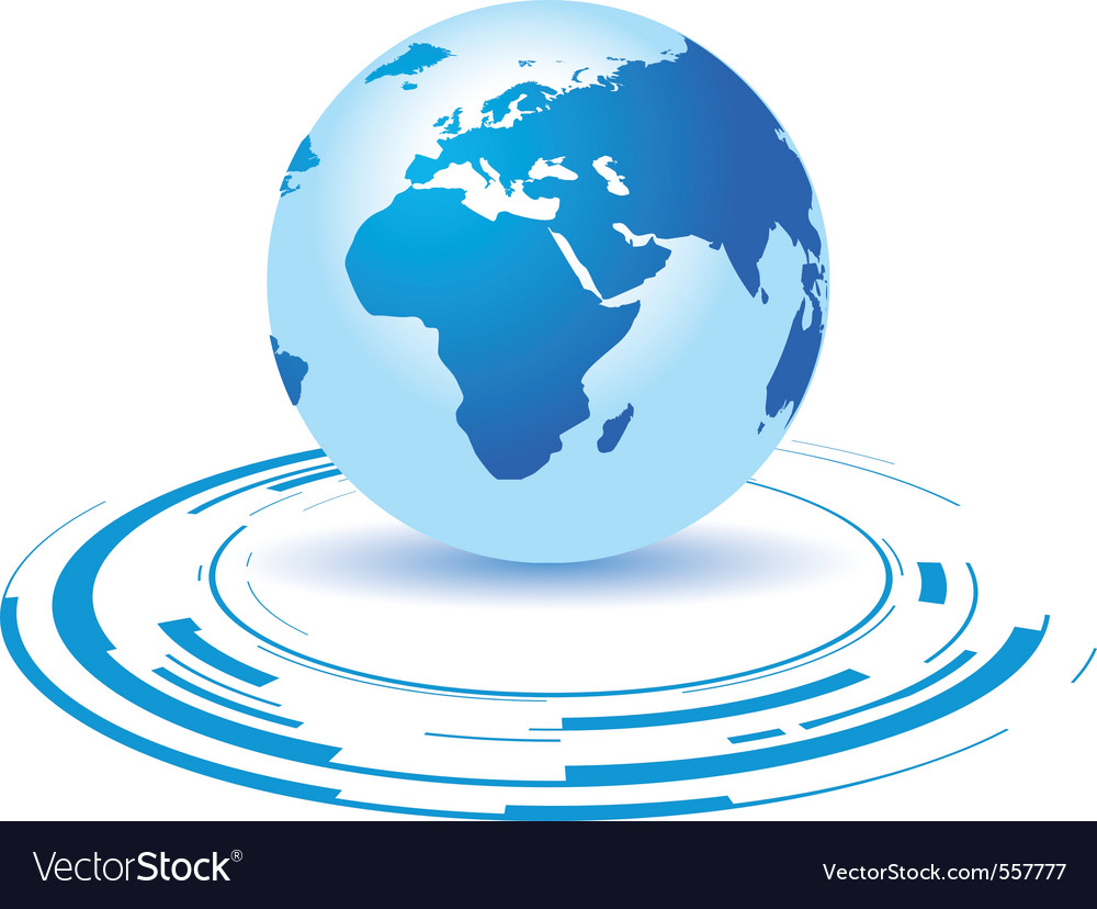 Globe icon vector | Price: 1 Credit (USD $1)