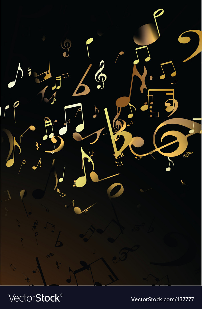 Music abstract background vector | Price: 1 Credit (USD $1)