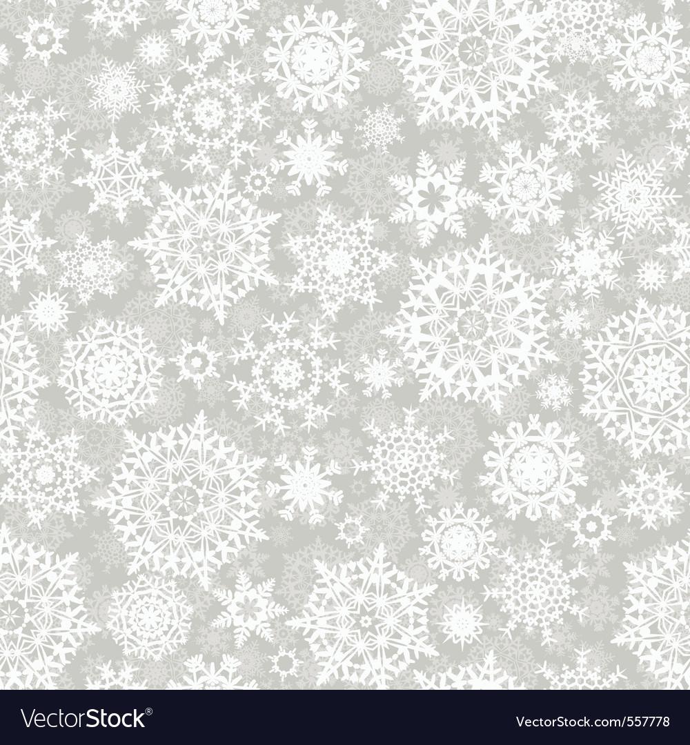 Christmas snowflake pattern vector | Price: 1 Credit (USD $1)