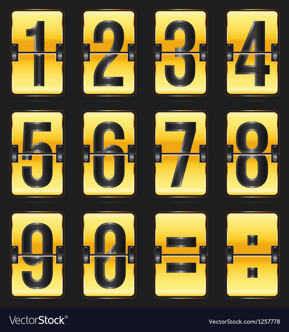 Timetable gold vector   Price: 1 Credit (USD $1)
