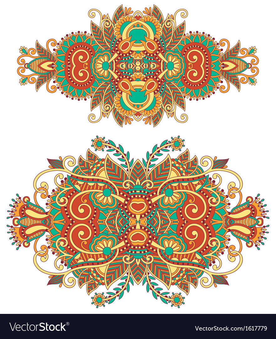 Floral adornment for your design vector | Price: 1 Credit (USD $1)
