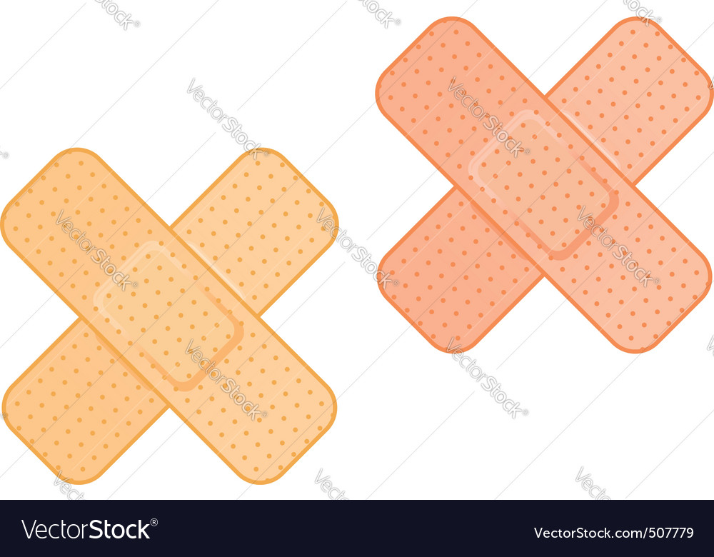 Medical plaster vector | Price: 1 Credit (USD $1)