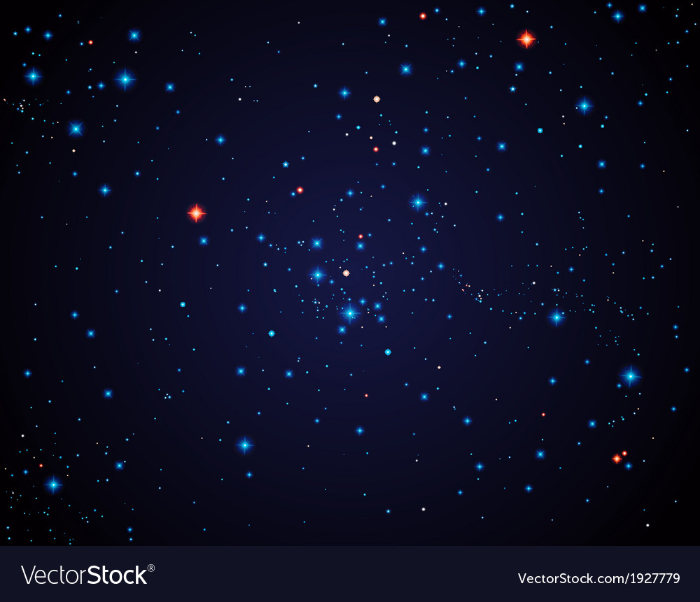 Star sky vector | Price: 1 Credit (USD $1)