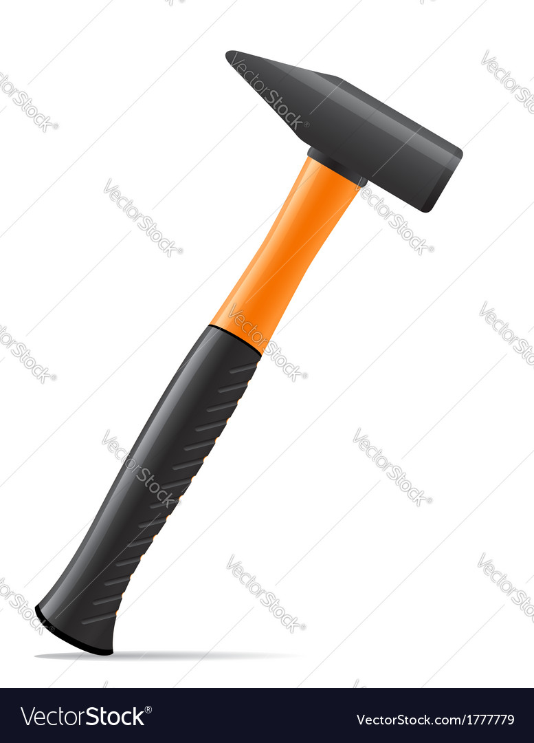 Tool hammer 02 vector | Price: 1 Credit (USD $1)
