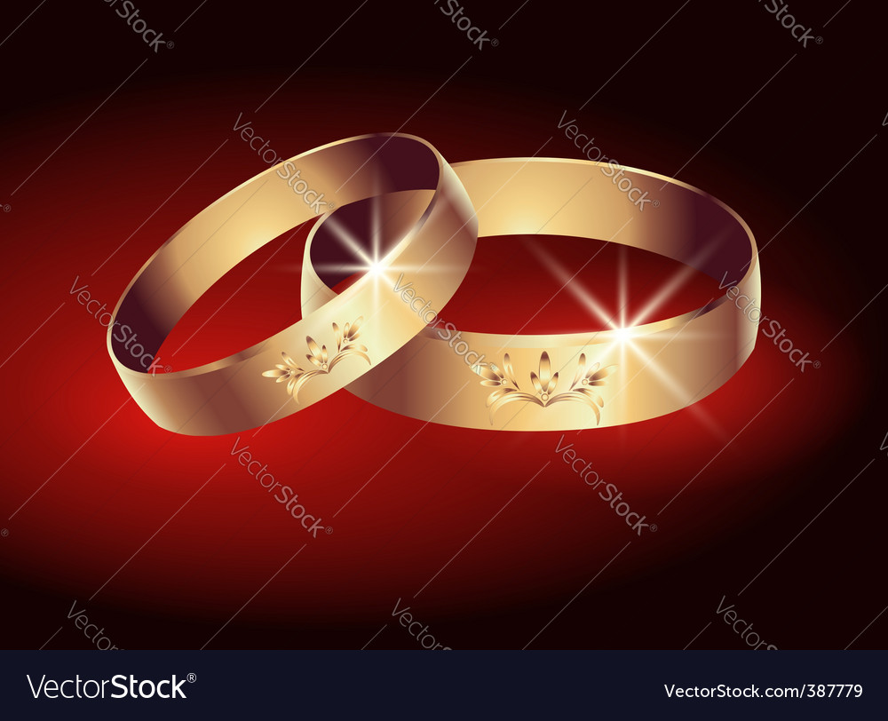 Wedding ring vector | Price: 1 Credit (USD $1)