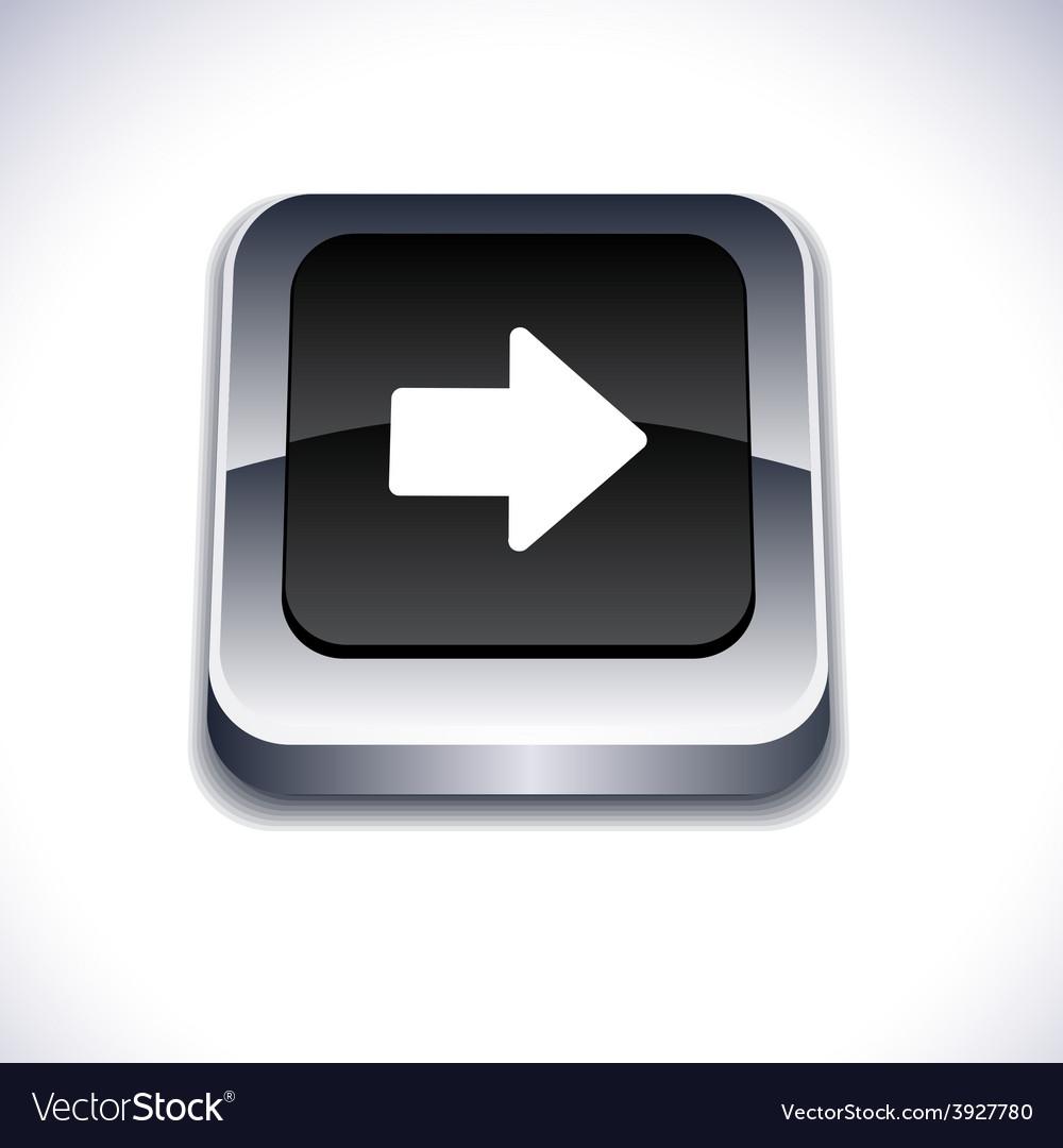 Arrow 3d button vector | Price: 1 Credit (USD $1)