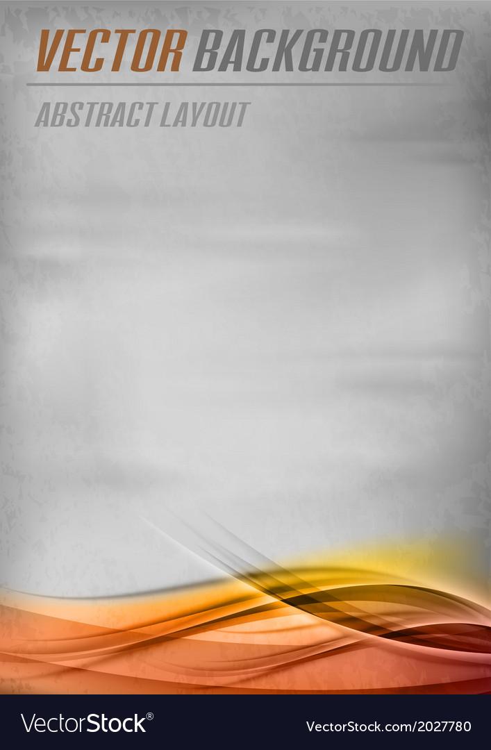 Background orange layout bottom vector | Price: 1 Credit (USD $1)