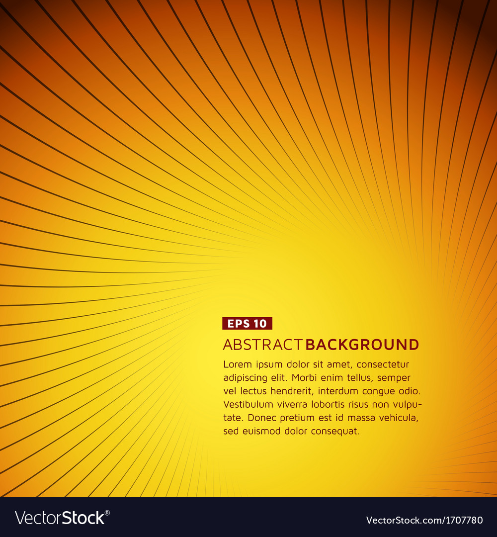 Colorful curve lines background vector | Price: 1 Credit (USD $1)