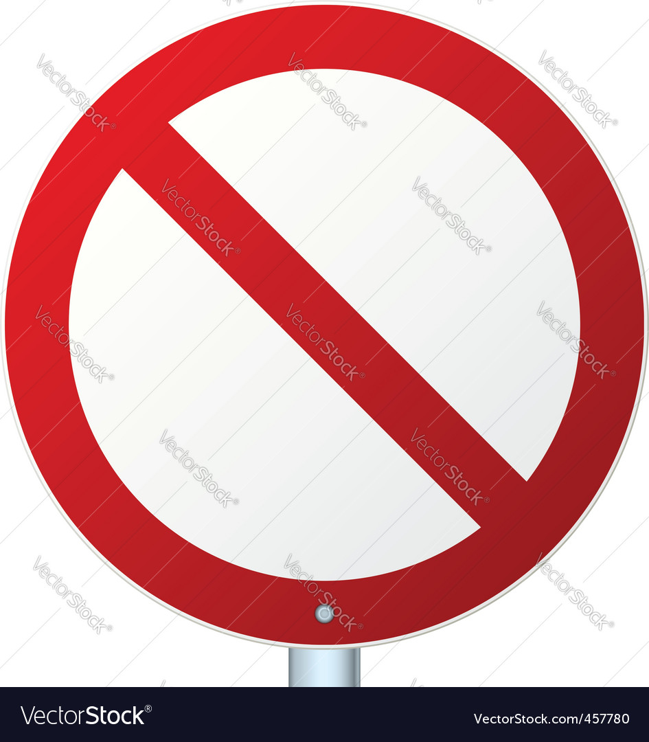 Road sign vector | Price: 1 Credit (USD $1)