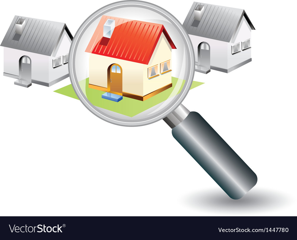 Searching for a new home concept vector | Price: 1 Credit (USD $1)