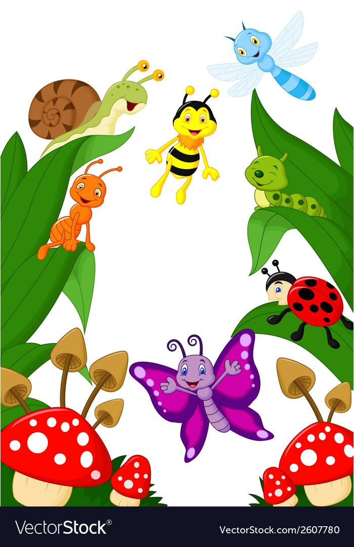 Small animals cartoon vector | Price: 3 Credit (USD $3)