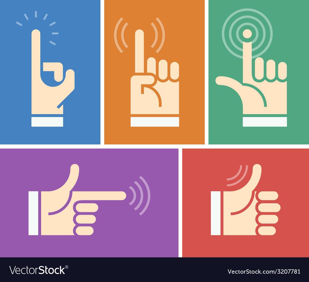 Human hands vector | Price: 1 Credit (USD $1)