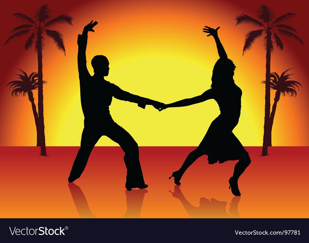 Two spain dancers vector   Price: 1 Credit (USD $1)