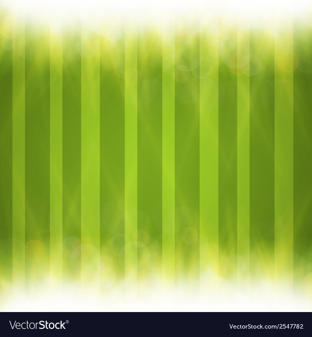 Abstract green blurry background with overlying vector | Price: 1 Credit (USD $1)