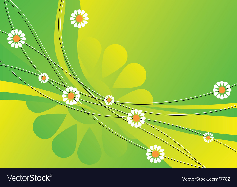 Spring abstract background vector | Price: 1 Credit (USD $1)