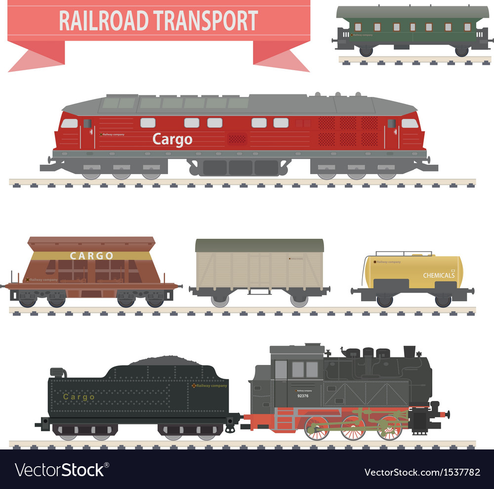 Trains vector | Price: 1 Credit (USD $1)