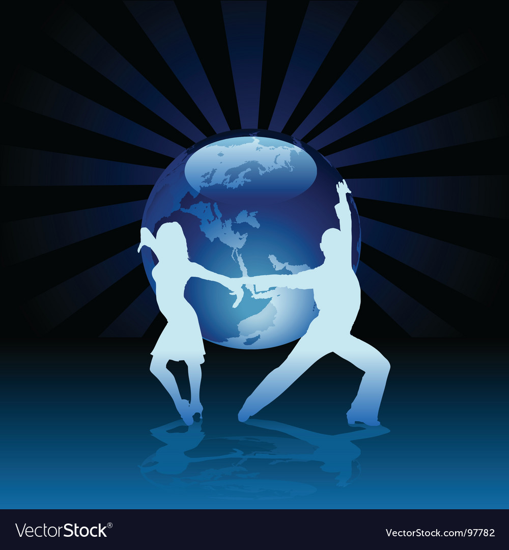 World latino dance vector | Price: 1 Credit (USD $1)