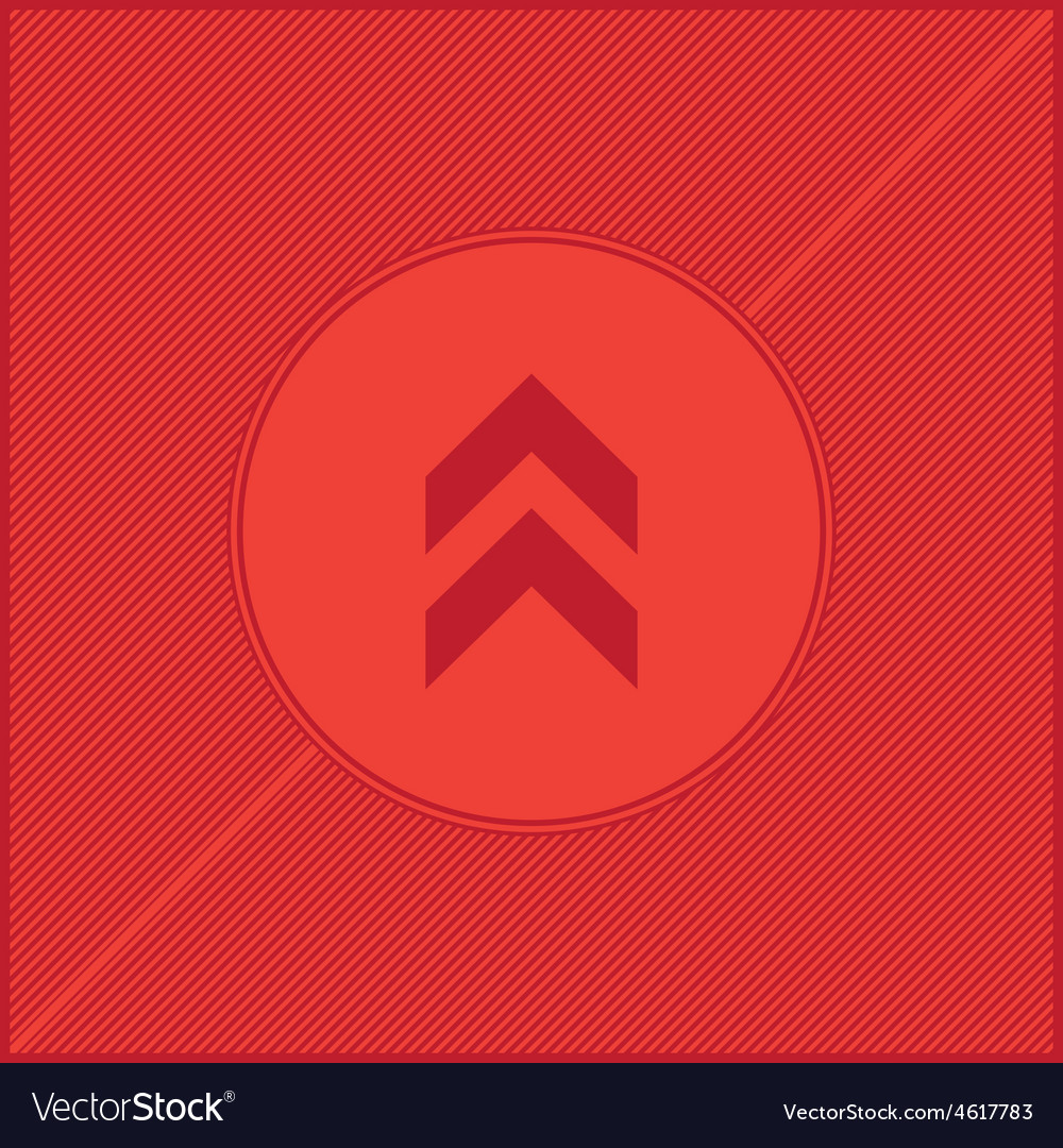Arrow red background vector | Price: 1 Credit (USD $1)