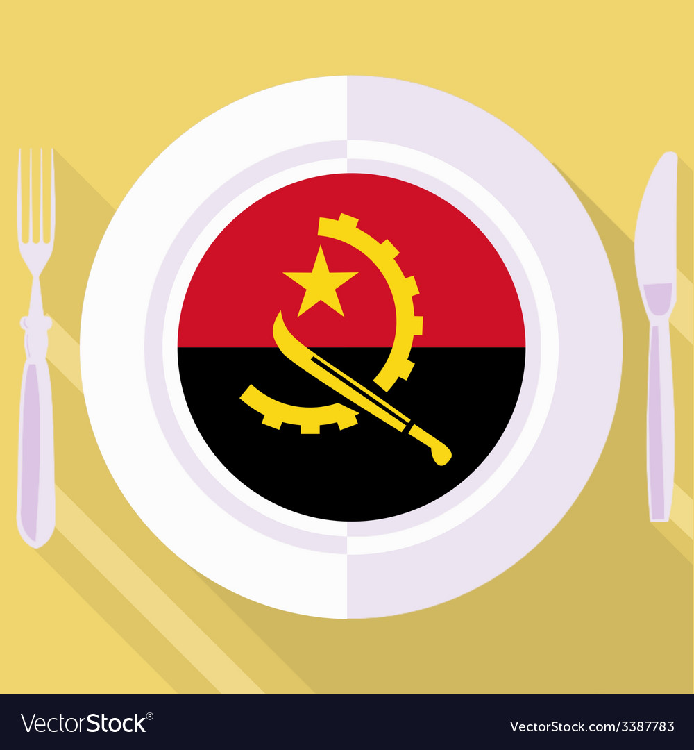 Kitchen of angola vector | Price: 1 Credit (USD $1)