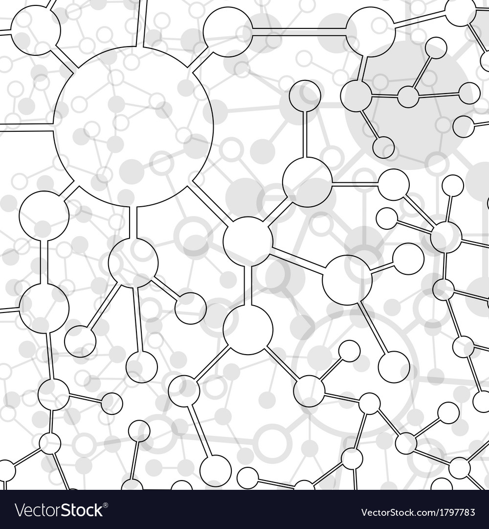 Website design template molecule vector | Price: 1 Credit (USD $1)