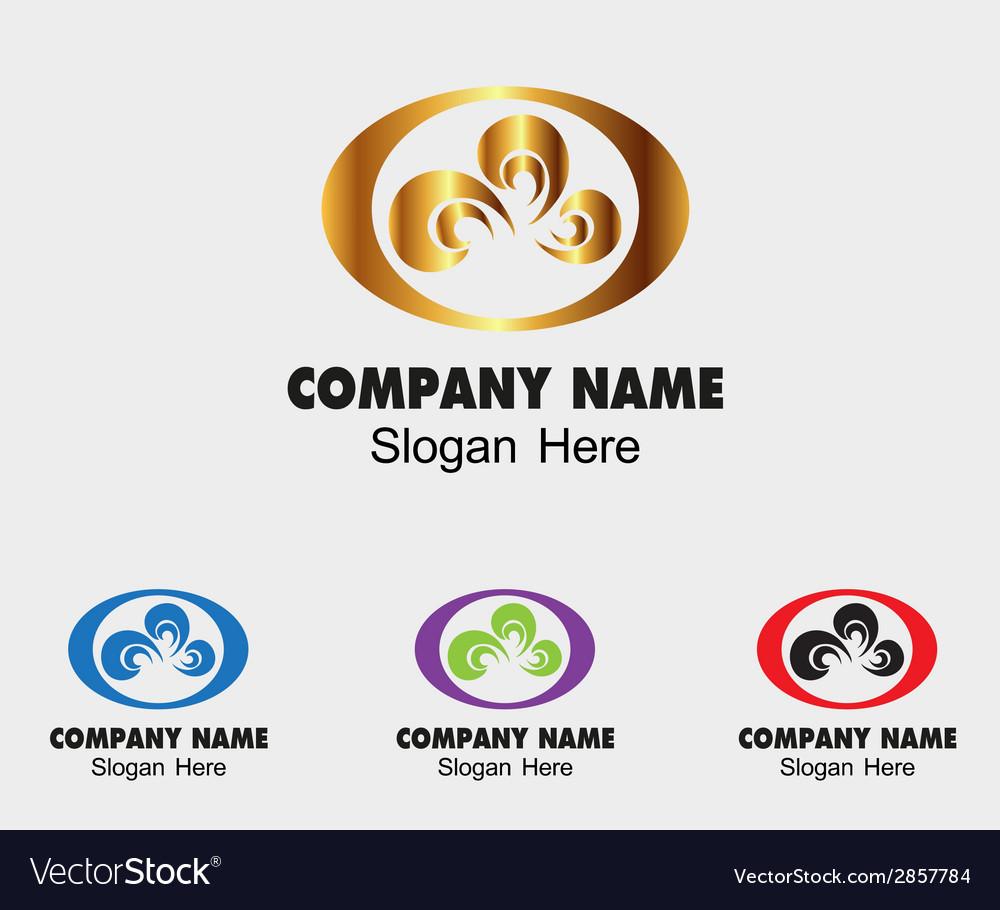 Creative symbol design template for company vector | Price: 1 Credit (USD $1)
