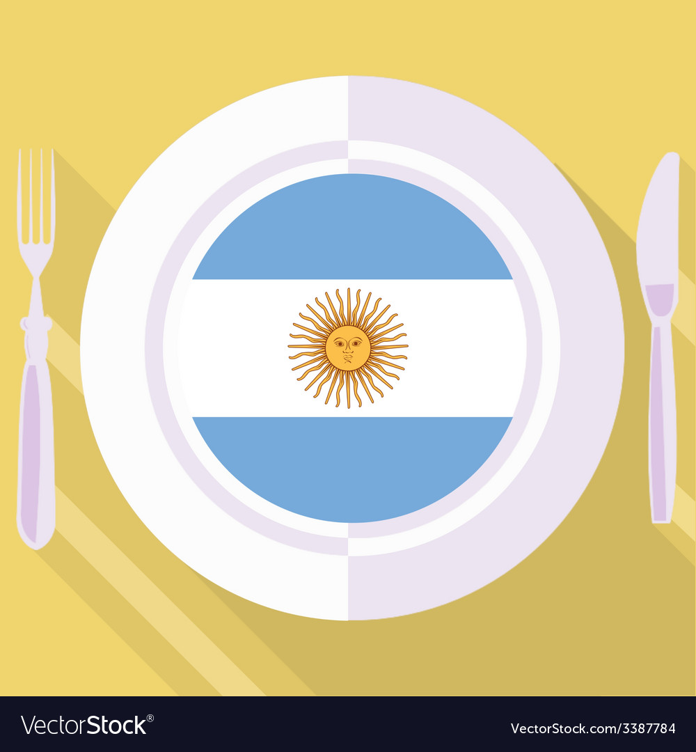 Kitchen of argentine vector | Price: 1 Credit (USD $1)