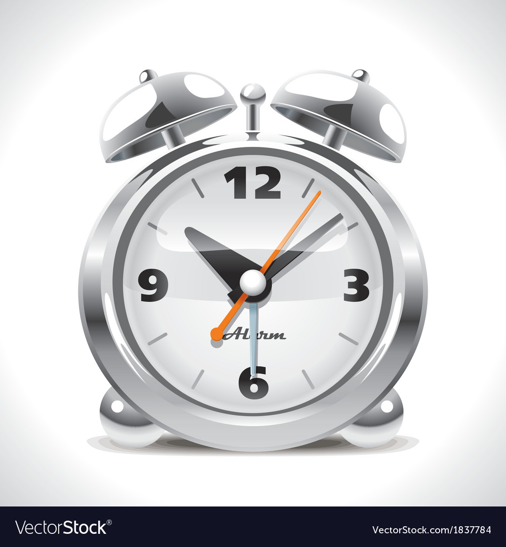 Old alarm clock vector | Price: 3 Credit (USD $3)