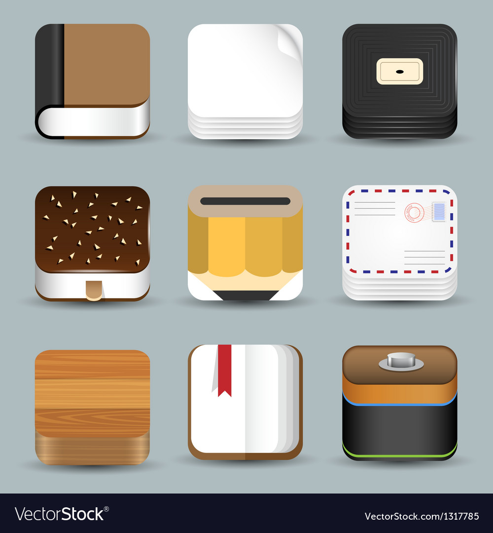 App icons vector | Price: 1 Credit (USD $1)