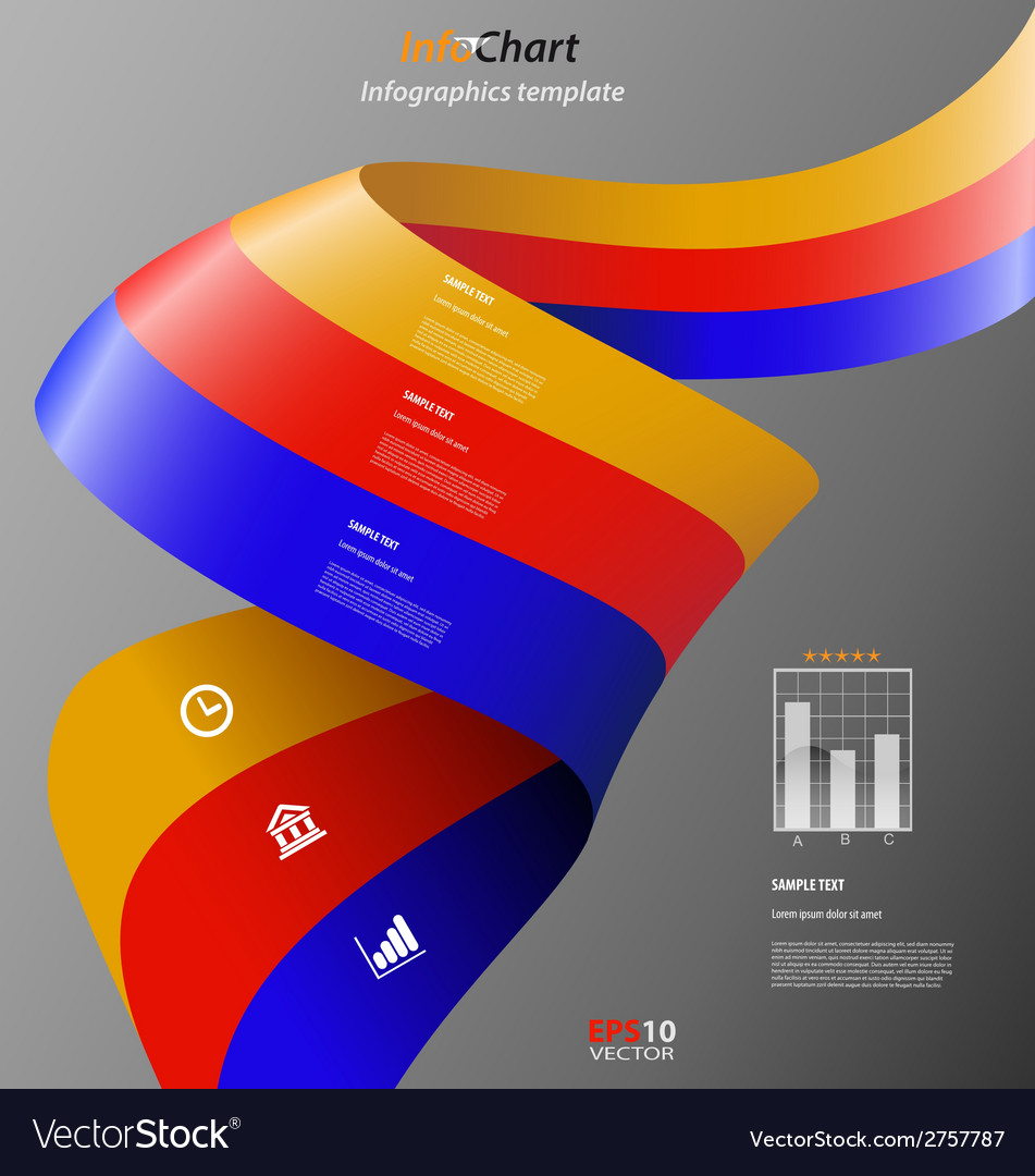 Minimal infographics template easily to be vector | Price: 1 Credit (USD $1)