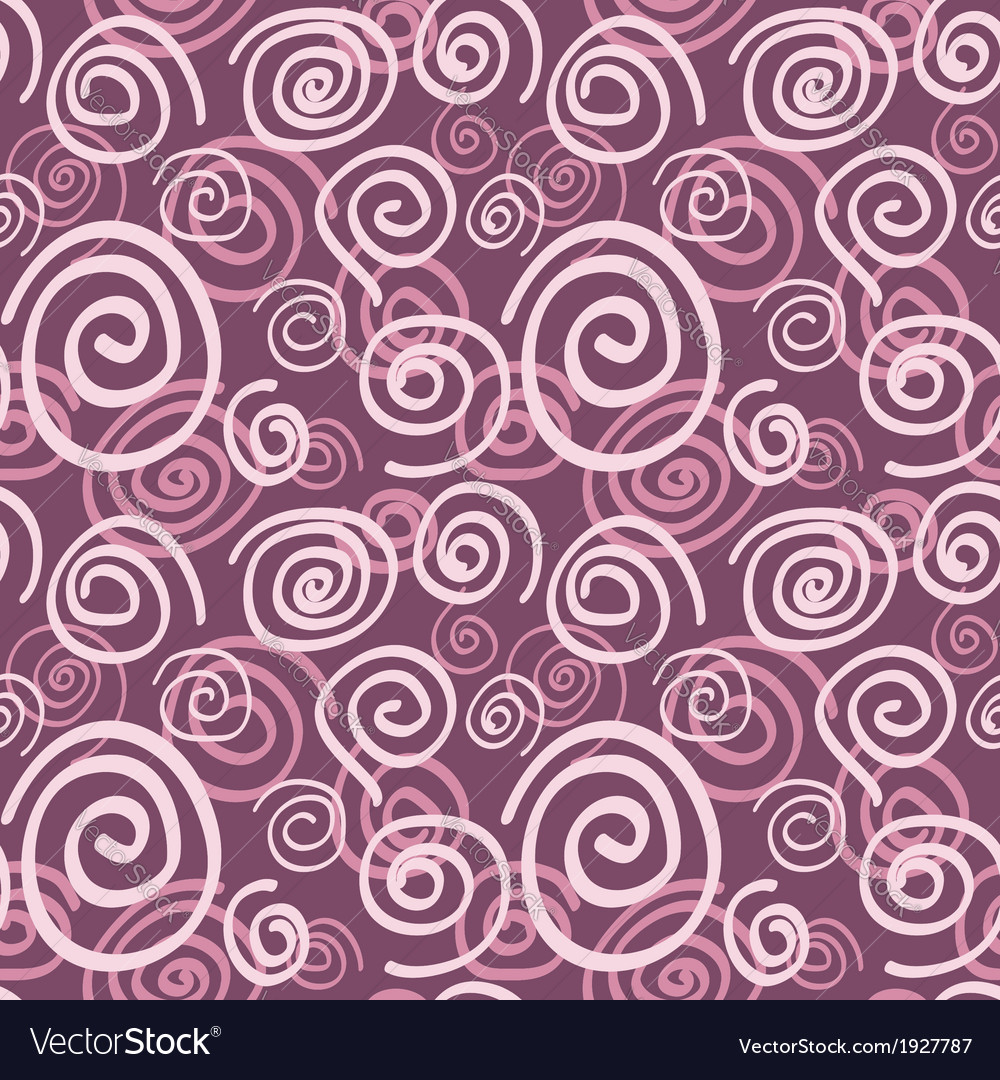 Seamless swirl pattern vector | Price: 1 Credit (USD $1)