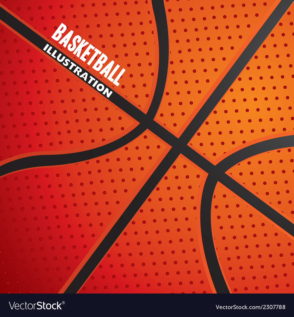 Basketball ball pattern vector | Price: 1 Credit (USD $1)
