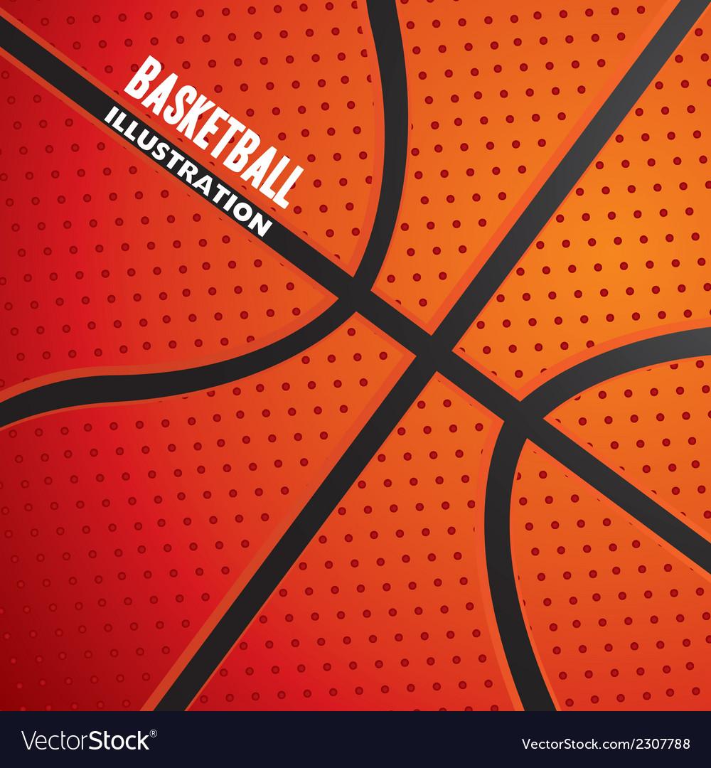 Basketball ball pattern vector | Price: 1 Credit (USD $1)