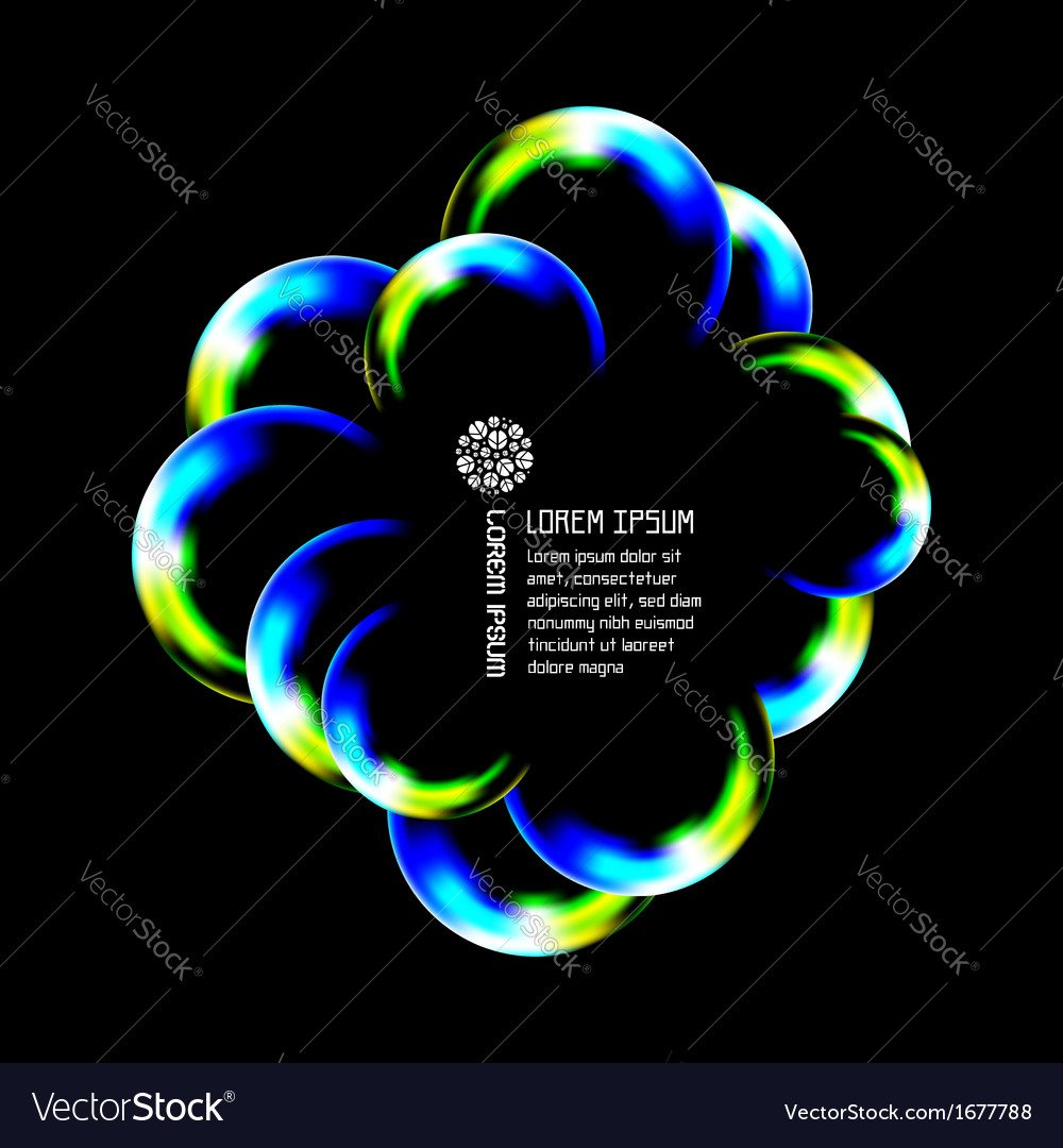Cloud abstract vector | Price: 1 Credit (USD $1)