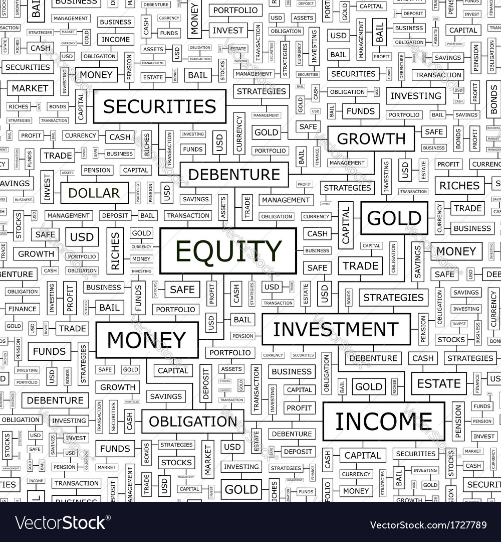 Equity vector | Price: 1 Credit (USD $1)