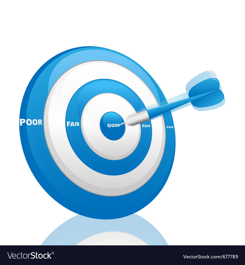 Evaluation dart vector | Price: 1 Credit (USD $1)