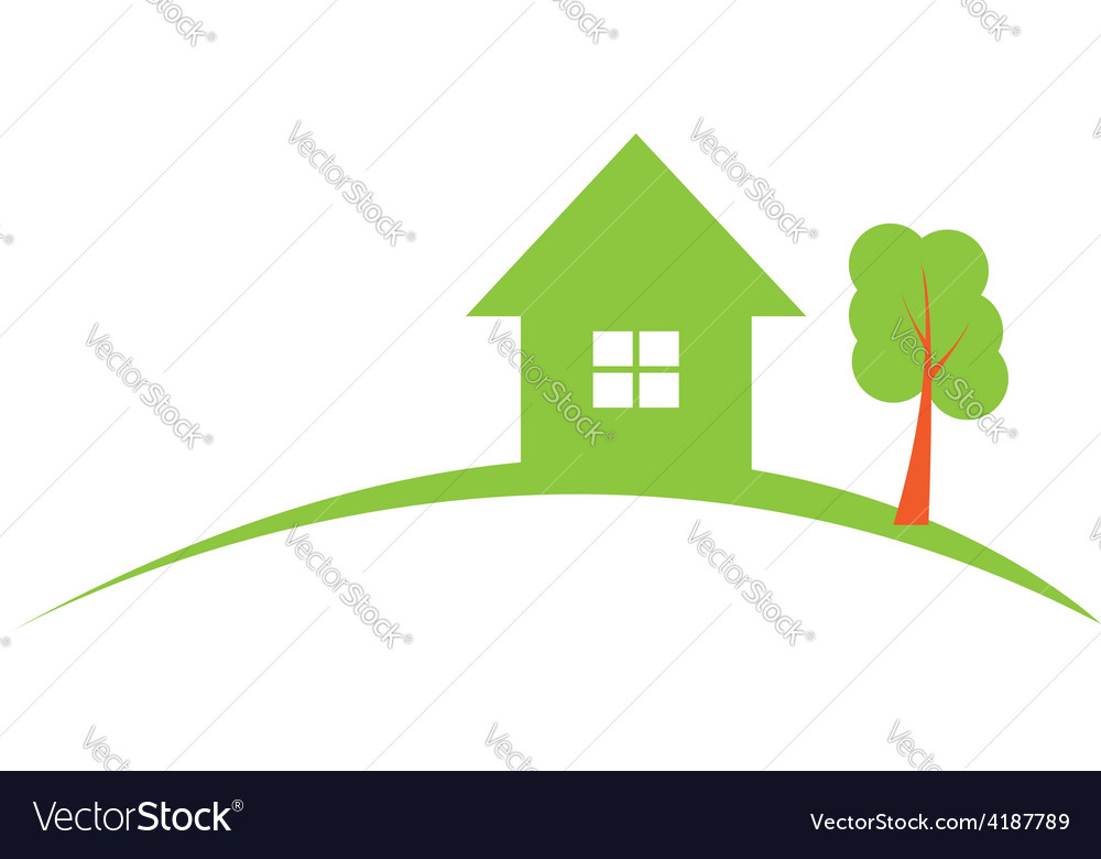 Real estate construction logo vector | Price: 1 Credit (USD $1)