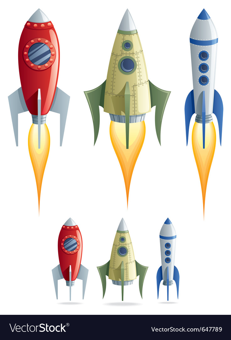Rockets vector | Price: 3 Credit (USD $3)