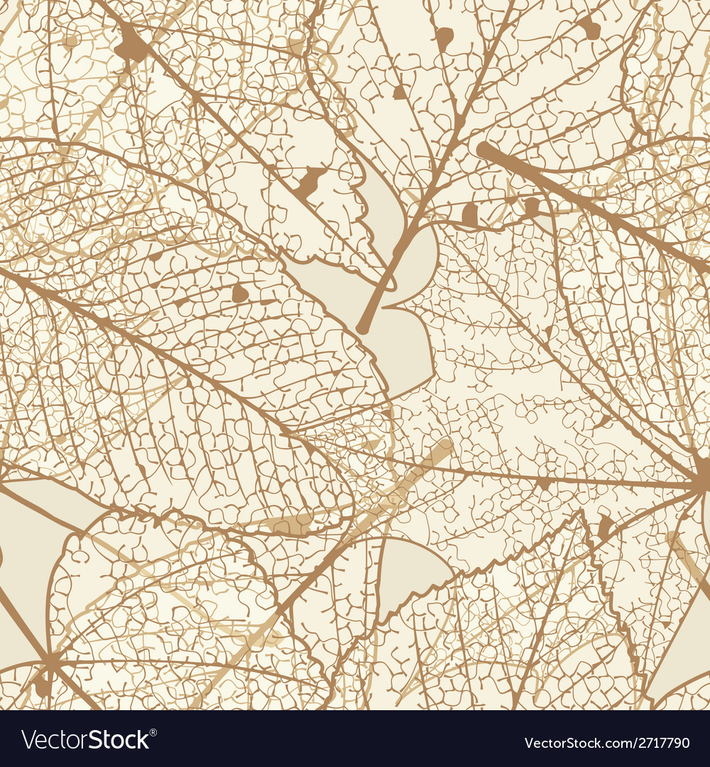 Seamless autumn leaves pattern plus eps10 vector | Price: 1 Credit (USD $1)