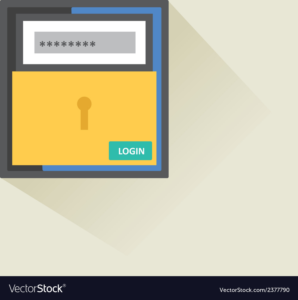 User login 23 vector | Price: 1 Credit (USD $1)