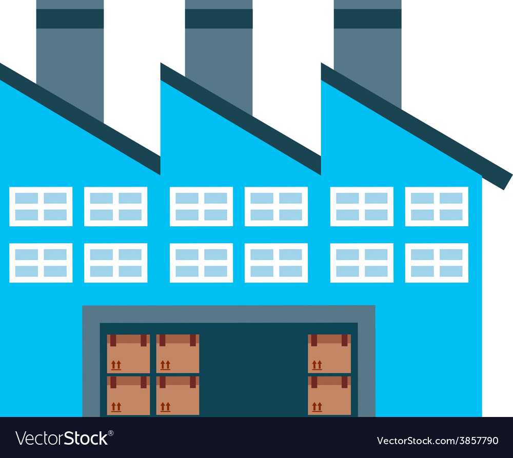 Warehouse poster vector | Price: 1 Credit (USD $1)