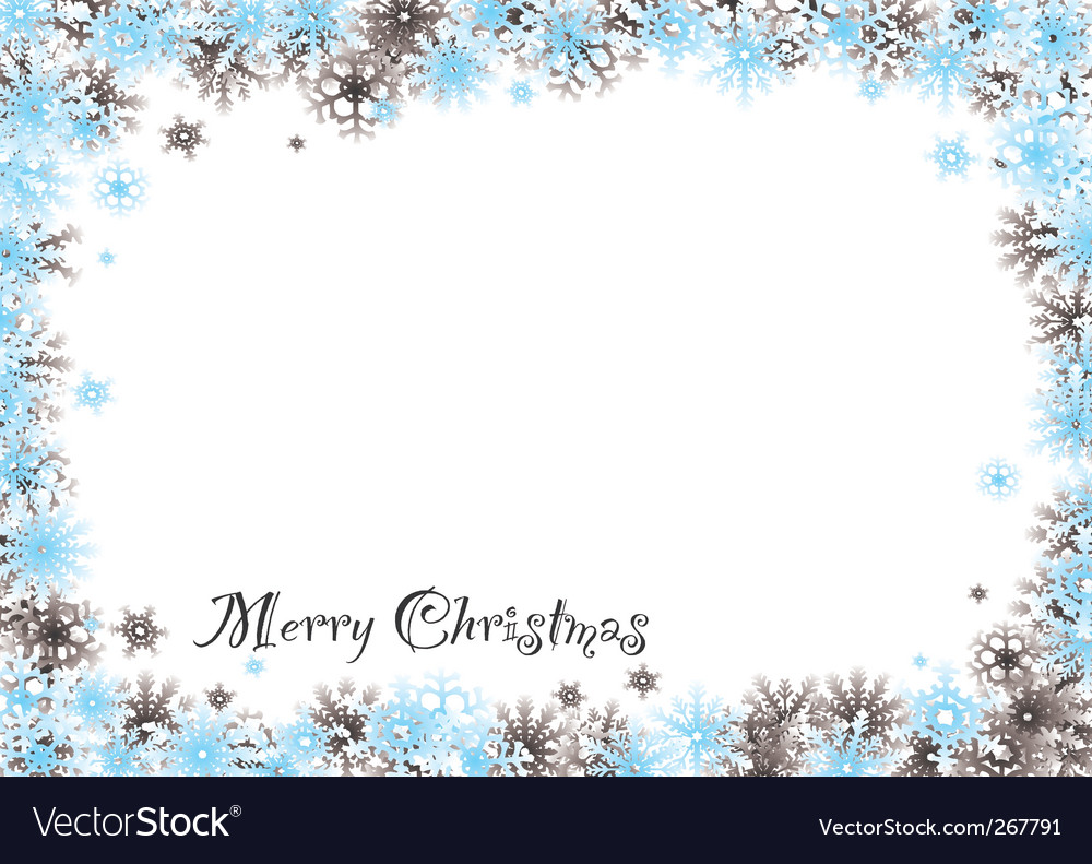 Christmas snow background vector | Price: 1 Credit (USD $1)