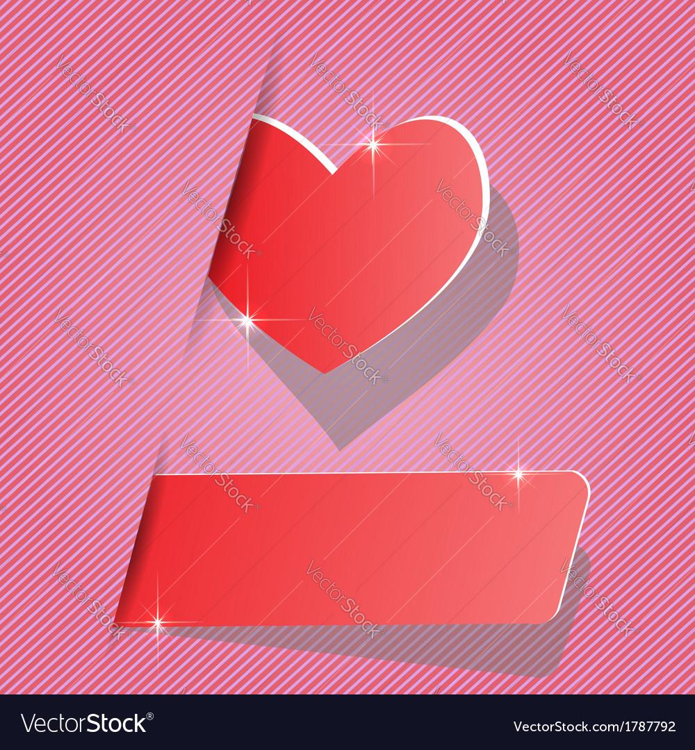 Paper heart vector   Price: 1 Credit (USD $1)