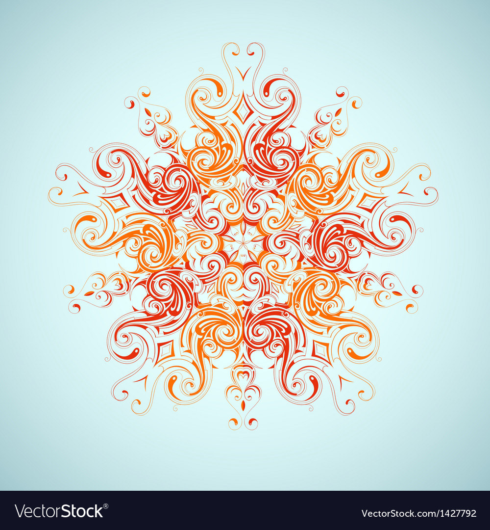 Tribal sun design vector | Price: 1 Credit (USD $1)