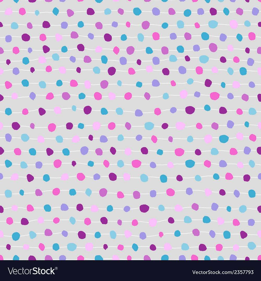 Seamless abstract background of dots and strips vector | Price: 1 Credit (USD $1)