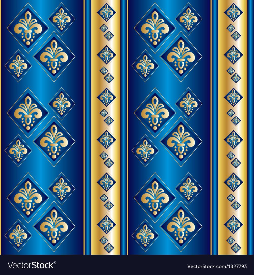 Silk blue wallpaper vector | Price: 1 Credit (USD $1)