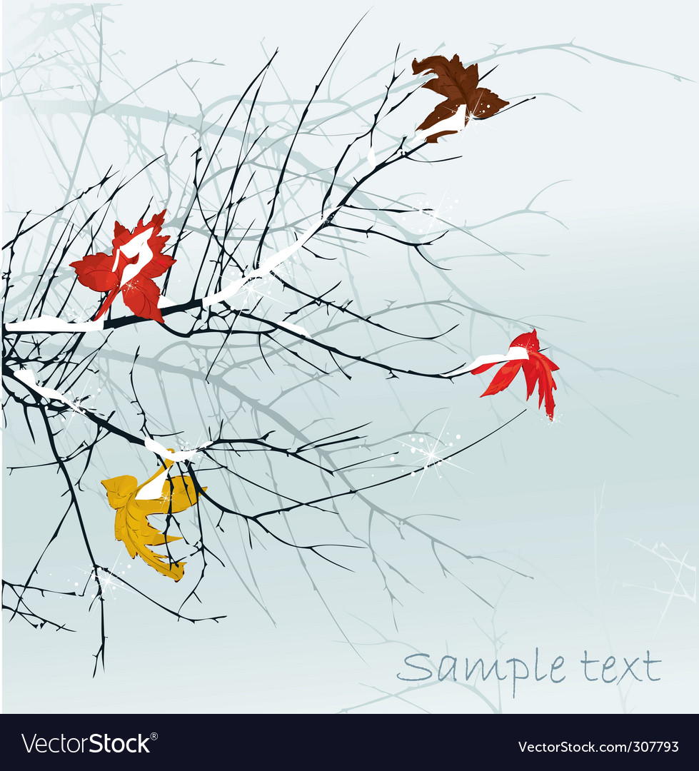 Winter season vector | Price: 1 Credit (USD $1)