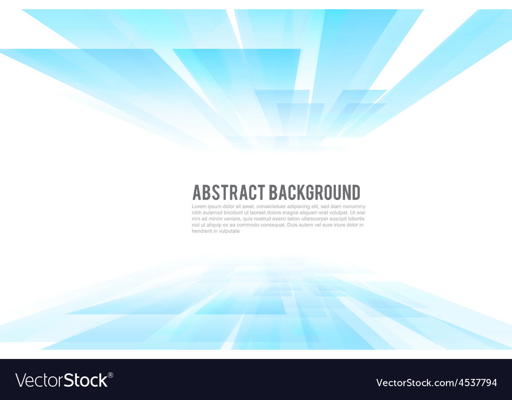 Abstract background pespective bright and light vector | Price: 1 Credit (USD $1)