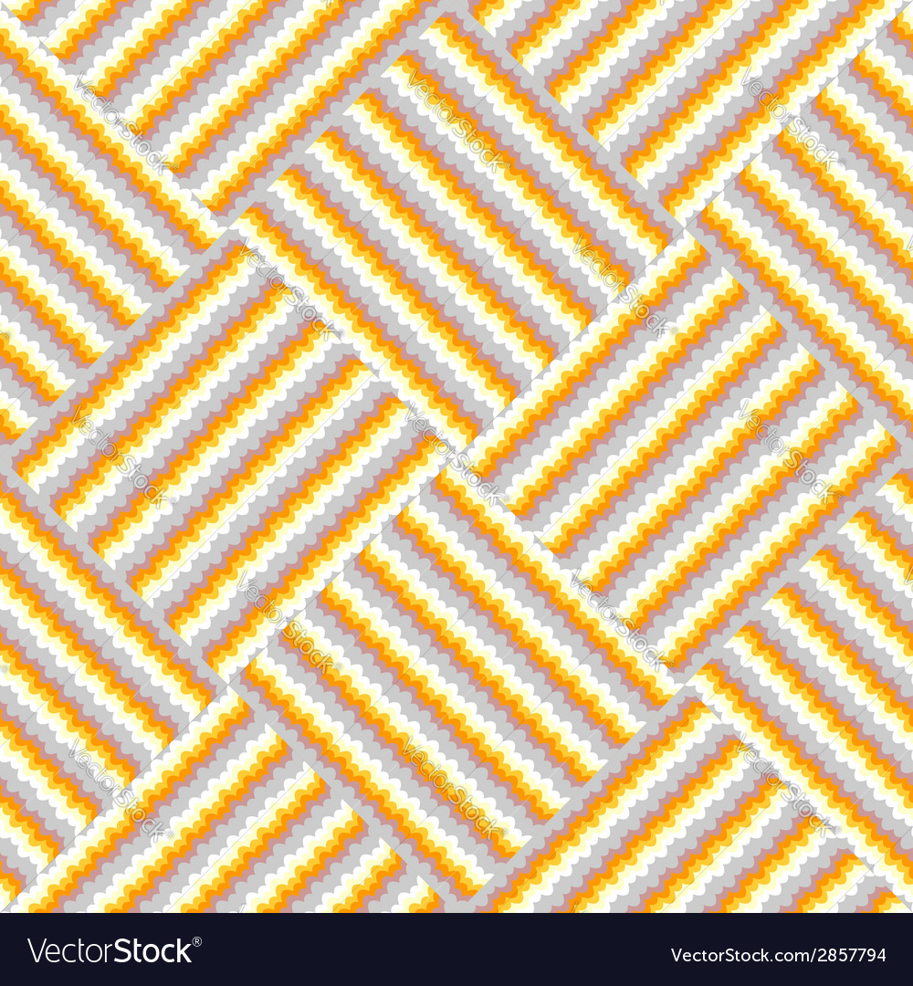 Design seamless knitted decorative pattern vector | Price: 1 Credit (USD $1)