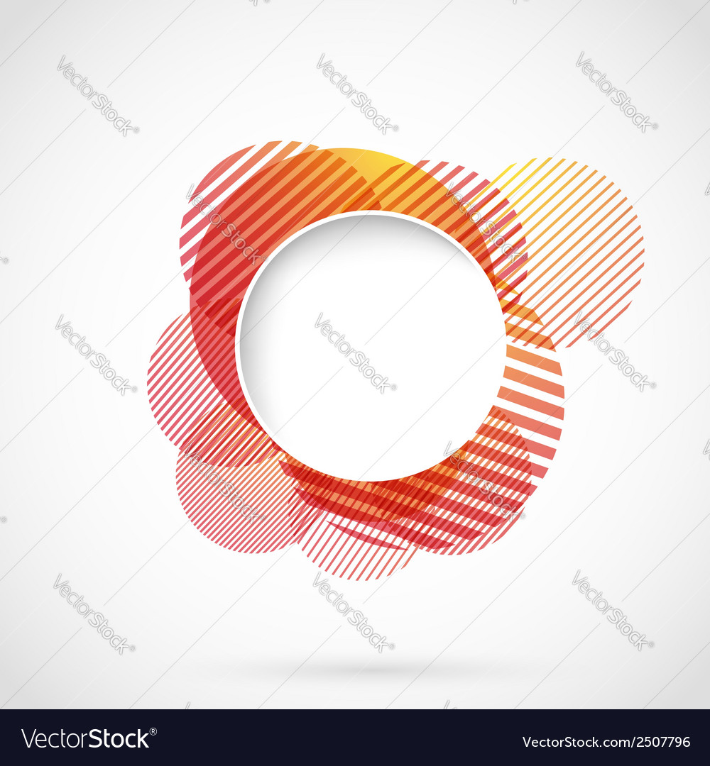 Bright red circle advertising background template vector | Price: 1 Credit (USD $1)